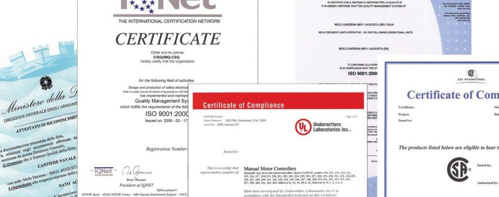 Supporto alla certificazione